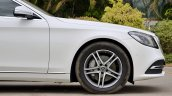 2018 Mercedes-Benz S-Class review test drive nose side