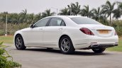 2018 Mercedes-Benz S-Class review test drive rear angle view