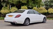 2018 Mercedes-Benz S-Class review test drive rear three quarters