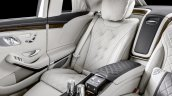 2018 Mercedes-Maybach Pullman (facelift) rear right-side seat