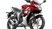 2018 Suzuki Gixxer SF Red Press front right quarter