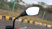 2018 TVS Apache RTR 160 4V First ride review rear view mirror