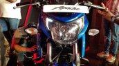 2018 TVS Apache RTR 160 4V India launch Blue headlamp