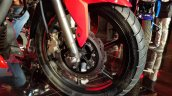 2018 TVS Apache RTR 160 4V India launch Red front brake