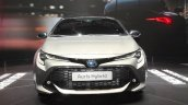 2018 Toyota Auris Hybrid front at the 2018 Geneva Motor Show