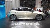 2018 Toyota Auris Hybrid profile at the 2018 Geneva Motor Show