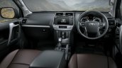 2018 Toyota Land Cruiser Prado (facelift) interior dashboard
