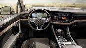 2018 VW Touareg dashboard driver side