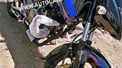 Bajaj Pulsar 150 UG5 spied again front angle