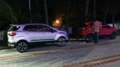Ford EcoSport Signature edition and Titanium S spotted
