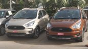 Ford Freestyle CUV spotted in multiple colours