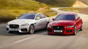 Jaguar XF and Jaguar XE dynamic