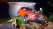 Jeep Compass Trailhawk front three quarters India
