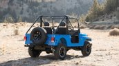 Mahindra Roxor rear three quarters
