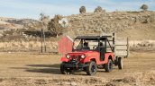Mahindra Roxor towing