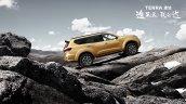 Nissan Terra hill-climb