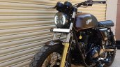 Royal Enfield Continental GT Bronco by Bulleteer Customs front left quarter