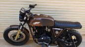 Royal Enfield Continental GT Bronco by Bulleteer Customs tank and seat