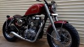 Royal Enfield Thunderbird 350 Spartan by Bulleteer Customs front angle