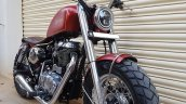 Royal Enfield Thunderbird 350 Spartan by Bulleteer Customs front right quarter