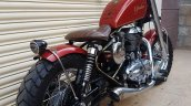 Royal Enfield Thunderbird 350 Spartan by Bulleteer Customs rear right quarter