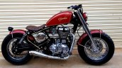Royal Enfield Thunderbird 350 Spartan by Bulleteer Customs right side