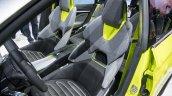 Skoda Vision X concept front seats at 2018 Geneva Motor Show