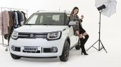 Suzuki Ignis Ginza front three quarters left side