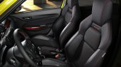 Suzuki Swift Sport Beeracing front seats