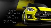 Suzuki Swift Sport Beeracing specifications