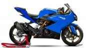 TVS Apache RR 310 rendered Blue