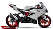 TVS Apache RR 310 rendered Grey