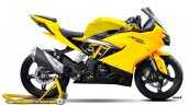 TVS Apache RR 310 rendered Yellow