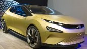 Tata 45X concept front three quarters at 2018 Geneva Motor Show