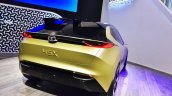 Tata 45X concept rear at 2018 Geneva Motor Show