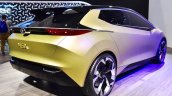 Tata 45X concept rear three quarters at 2018 Geneva Motor Show