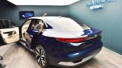 Tata EVision concept rear three quarters at 2018 Geneva Motor Show
