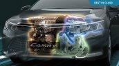 Toyota Camry Hybrid petrol-electric engine