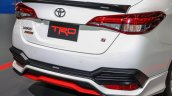 Toyota Yaris Ativ TRD rear fascia