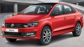 VW Vento Sport front three quarters