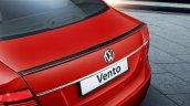 VW Vento Sport rear spoiler