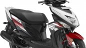 Yamaha Cygnus Ray-ZR press Rooster Red