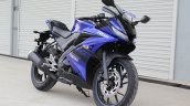 Yamaha YZF-R15 v3.0 track ride review front right quarter
