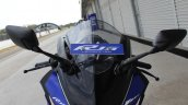 Yamaha YZF-R15 v3.0 track ride review windshield