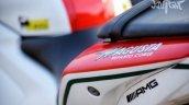 Yamaha YZF-R3 MV Agusta livery tail section