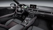 2018 Audi RS 5 Coupe interior dashboard