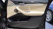 2018 BMW X3 Black Sapphire door panel