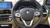 2018 BMW X3 Black Sapphire steering wheel