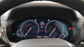 2018 BMW X3 Black Sapphire virtual instrument cluster