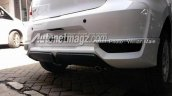 2018 Datsun Go (facelift) rear bumper spy shot